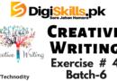Creative Writing Exercise 4 Batch-06
