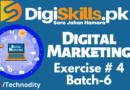 Digital Marketing Exercise 4 batch-06