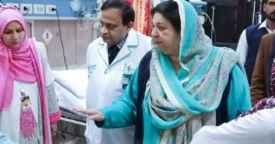 Dr Yasmin Rashid Press Conference about Corona Cases in Punjab
